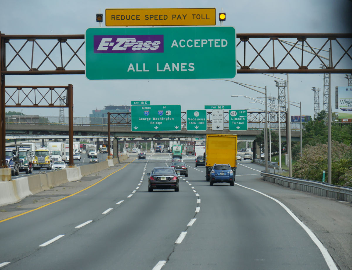 E-ZPass in a rental car