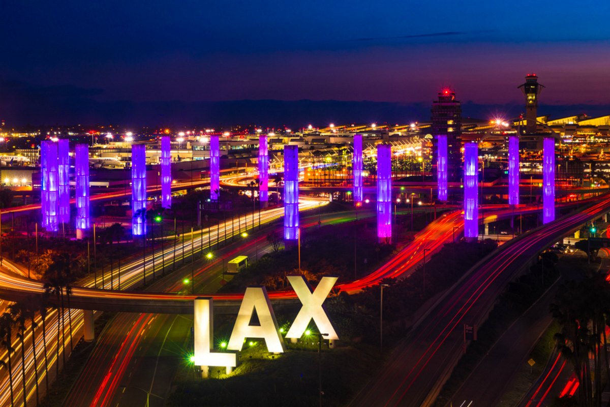 Los Angeles LAX Airport car rental