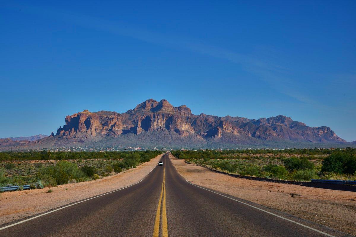 Alamo one-way car rental from Arizona