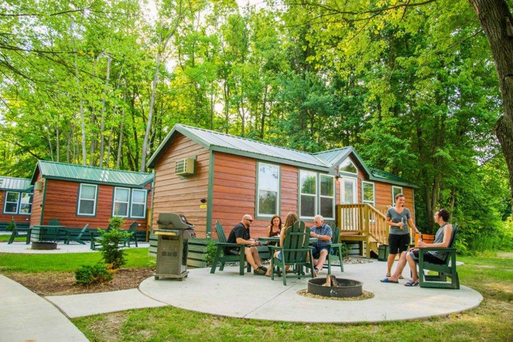 camping no tent