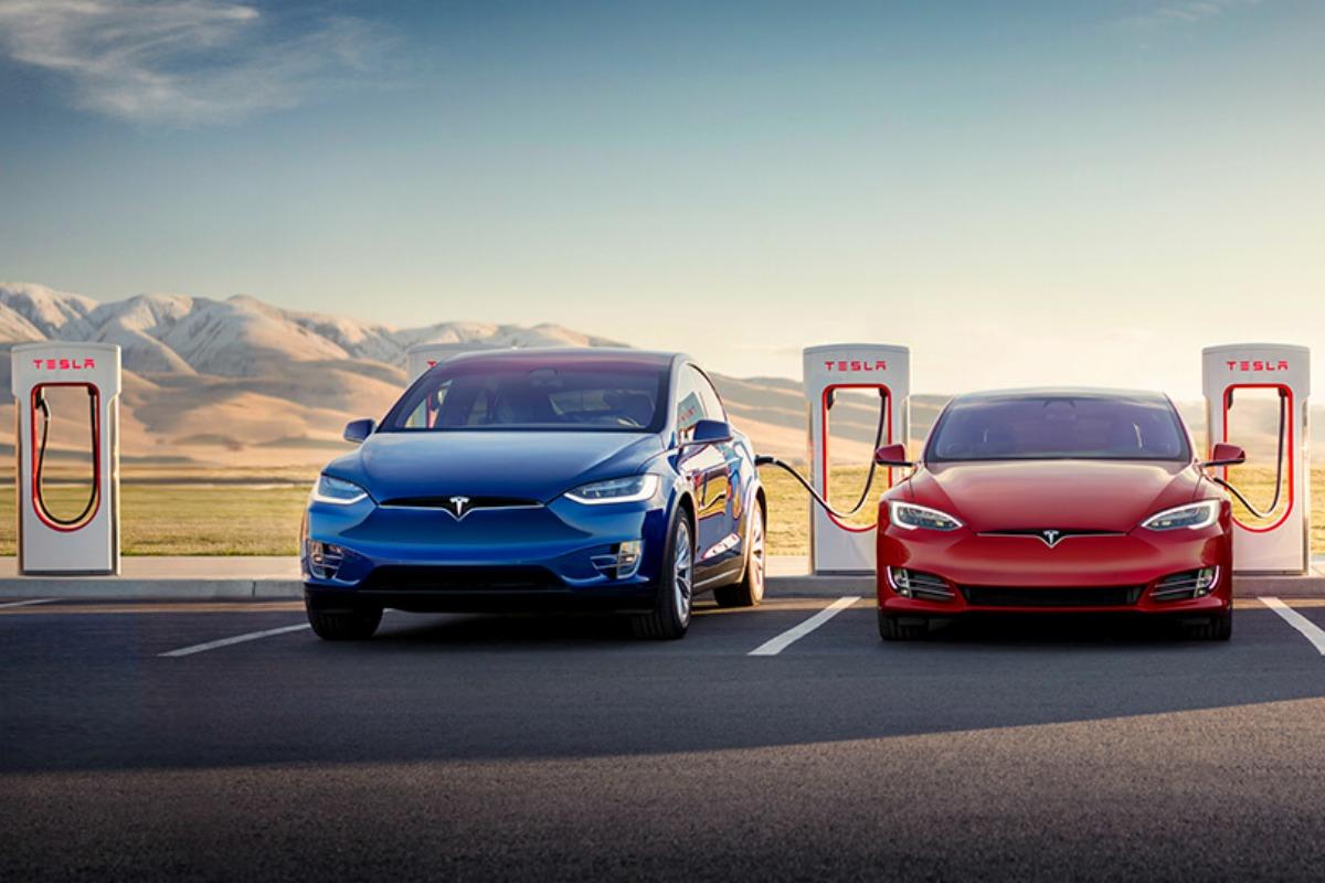 car rental Tesla