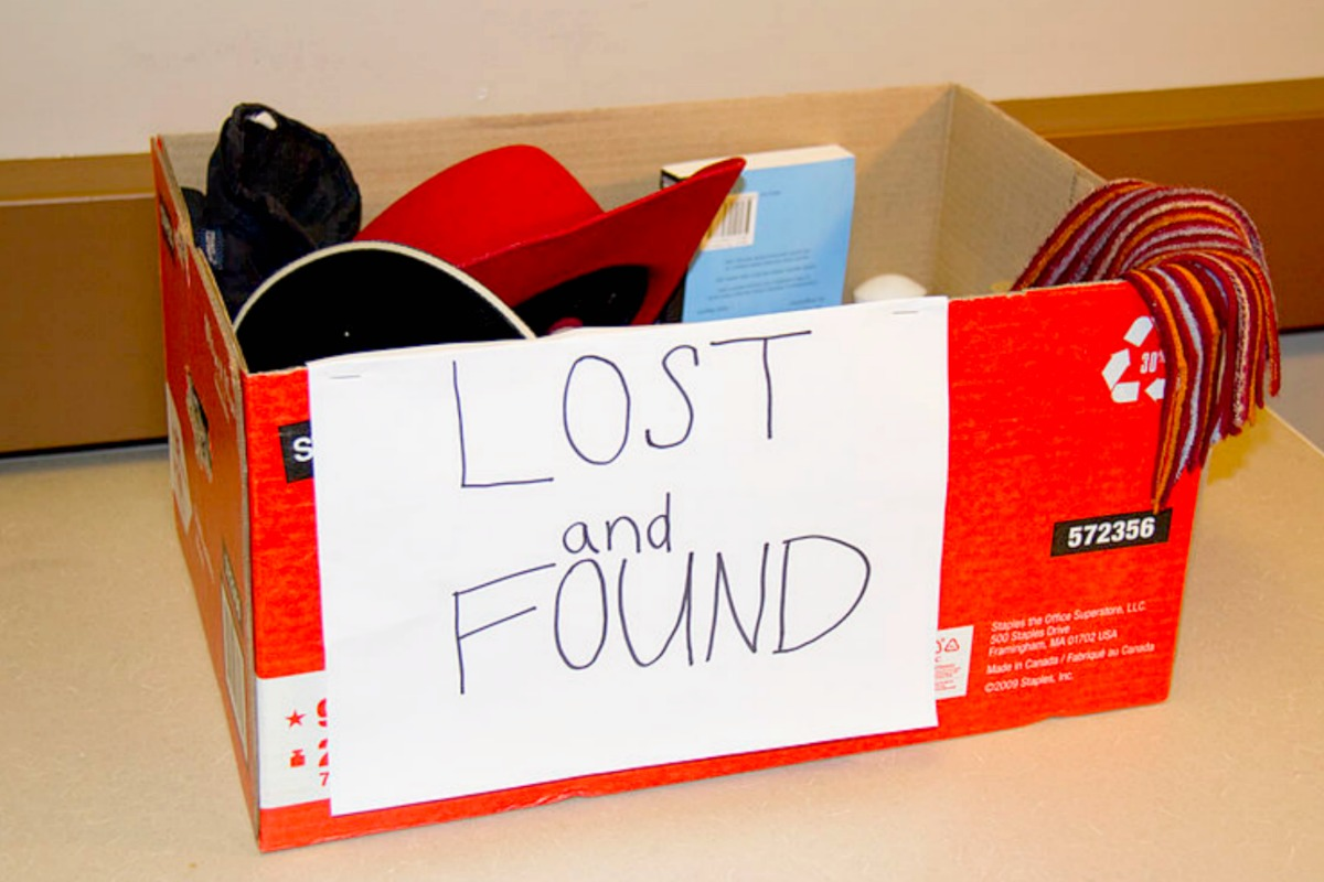 car rental lost and found