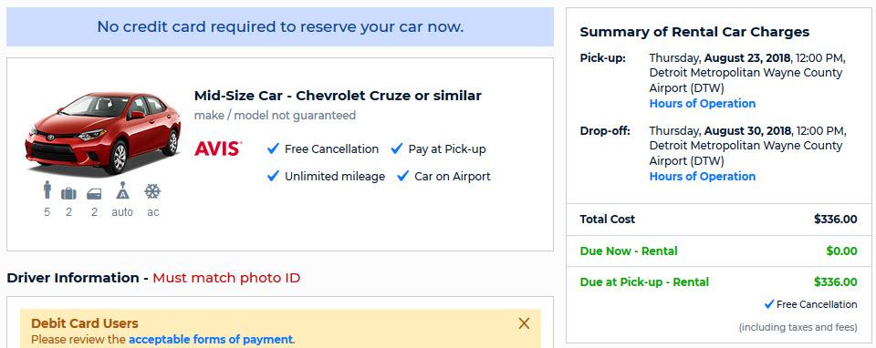 Amazon's Avis Car Rental Deal | AutoSlash | #1 for Car