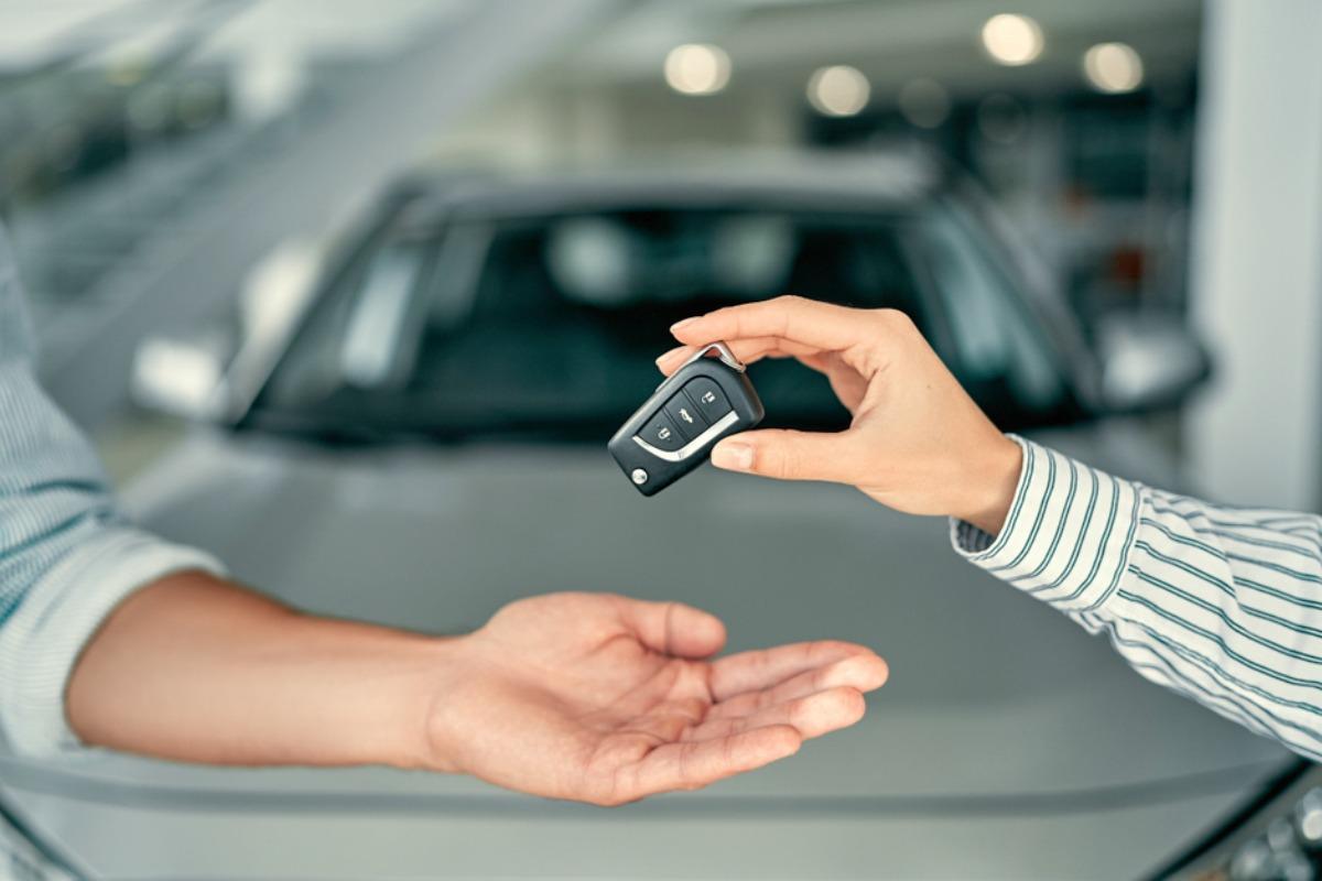 car rental someone else