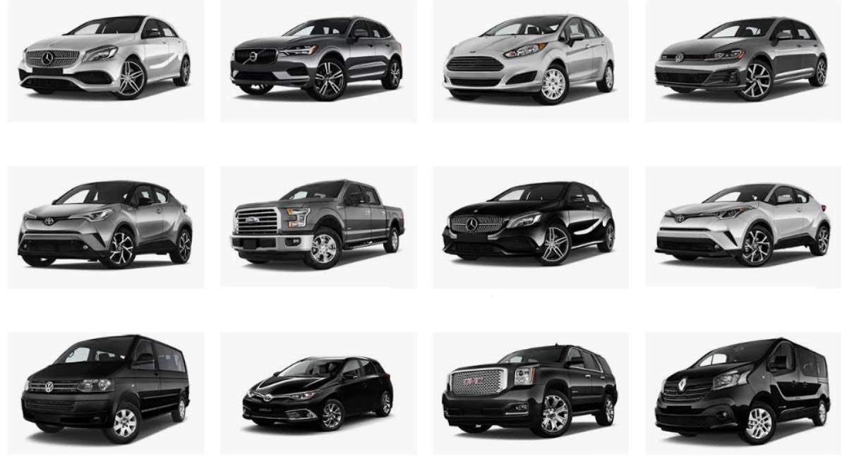 rental car categories explained