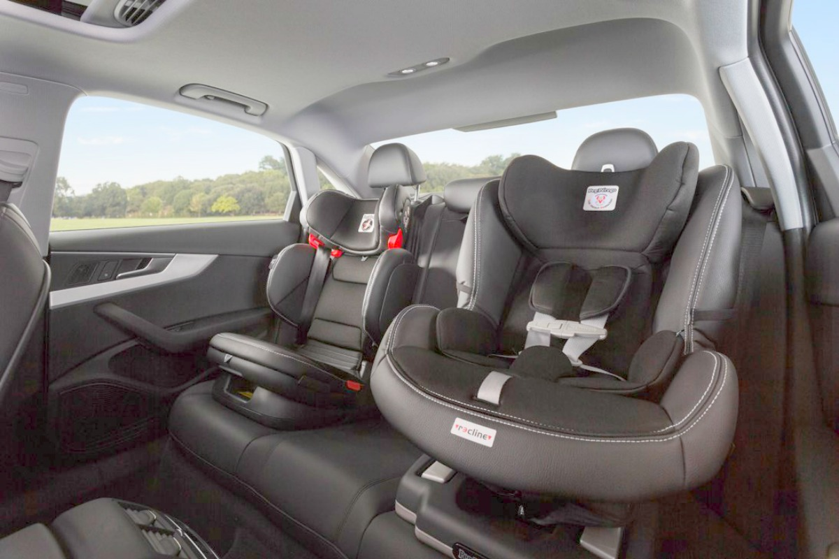 Silvercar free car seats