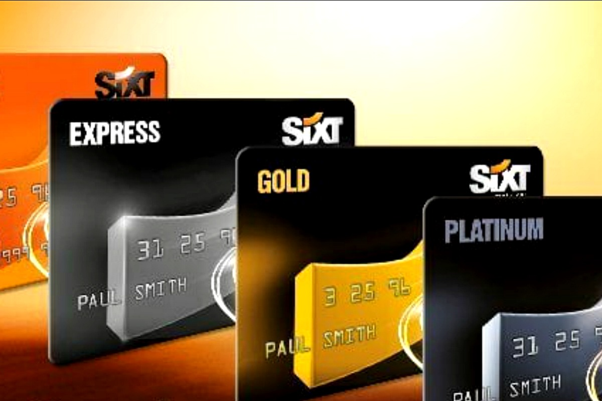 Sixt reward cards