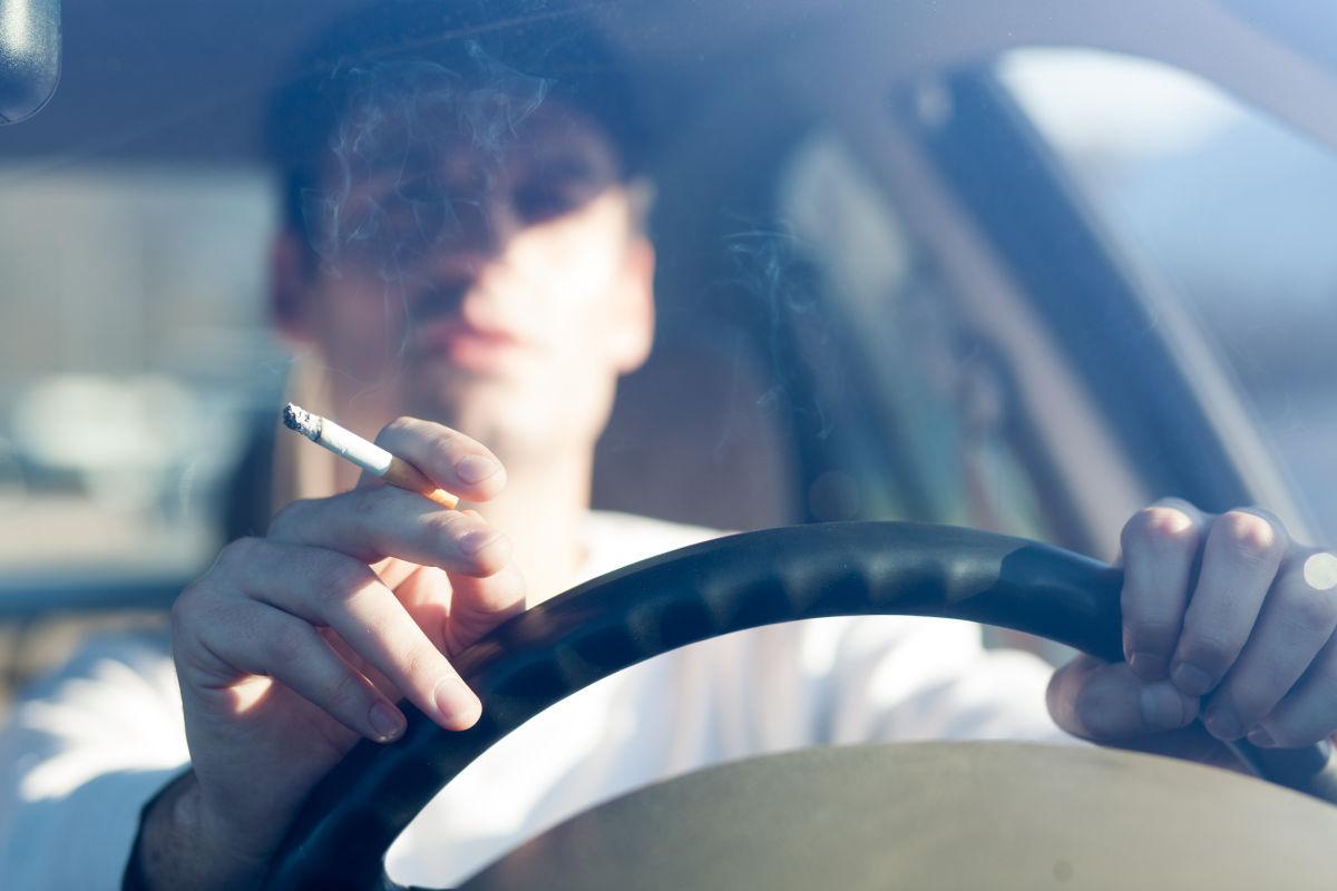 smoking in rental car