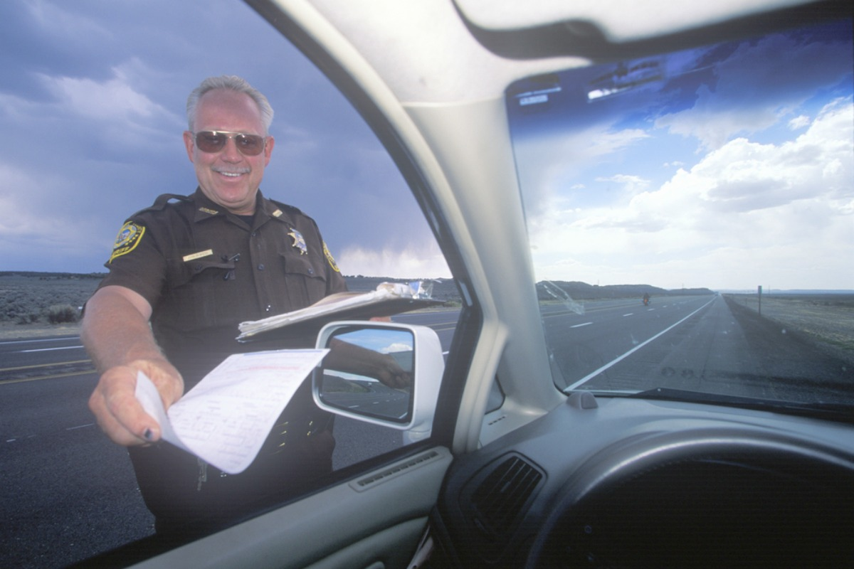 speeding ticket ohio
