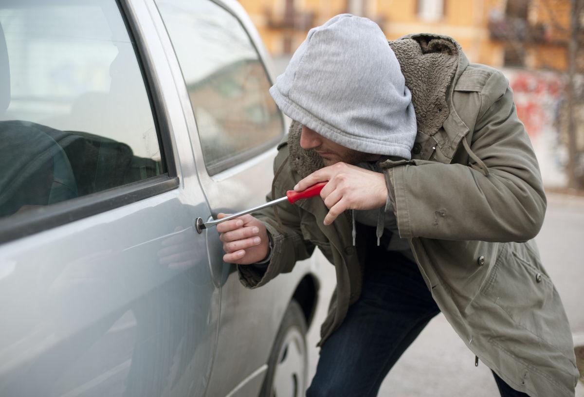 stolen rental car