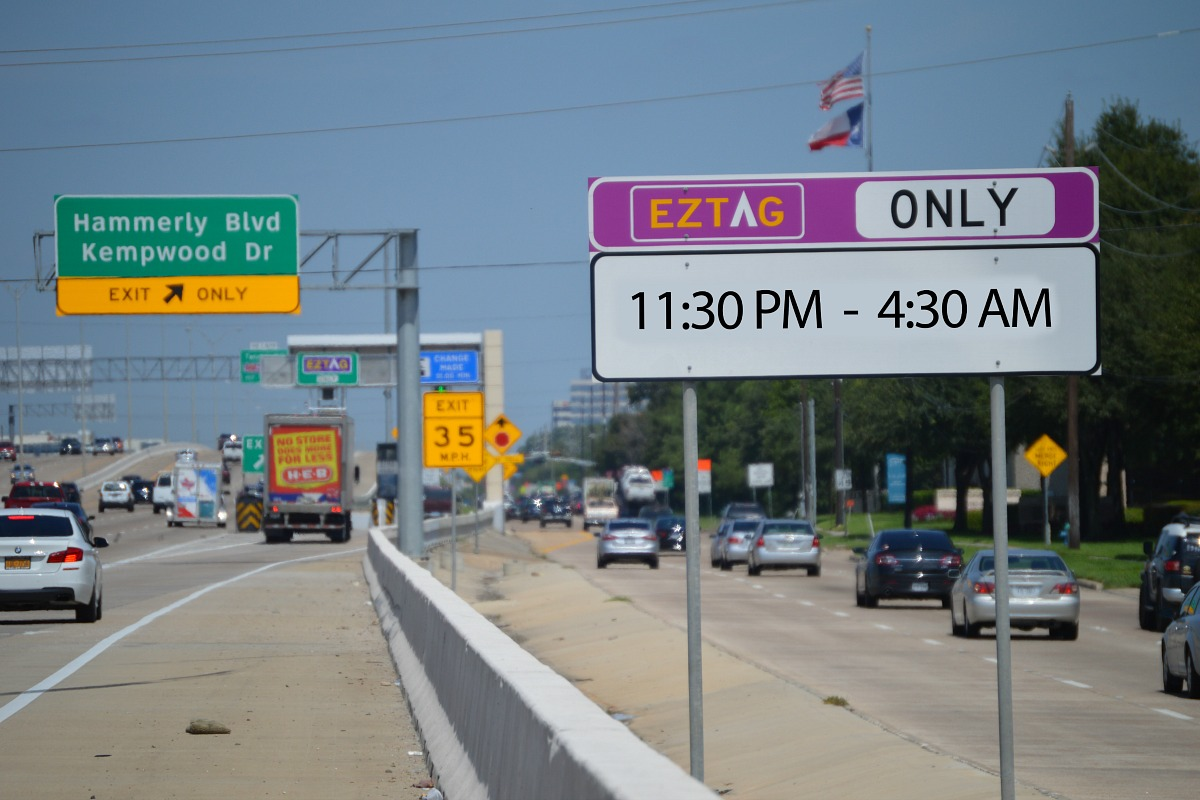 Texas toll pass rental cars